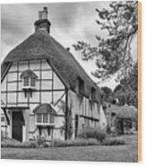 Bluebell Cottage Micheldever Wood Print