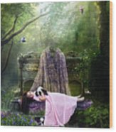 Bluebell Dreams Wood Print