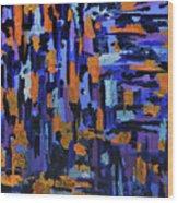 Blueberry Cobbler Wood Print