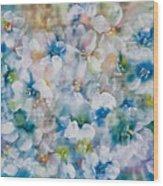 Bluebonnet Wood Print