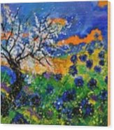 Bluecornflowers 451120 Wood Print