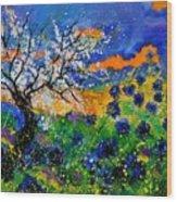Bluecornflowers 451120 Wood Print