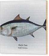 Bluefin Tuna Wood Print by Ralph Martens