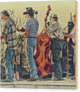 Bluegrass Evening Wood Print