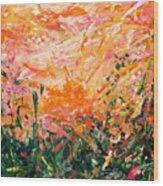 Bluegrass Sunrise - Desert A-left Wood Print