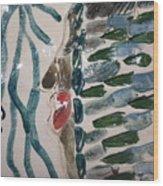 Blues - Tile Wood Print