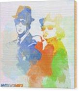 Blues Brothers Wood Print