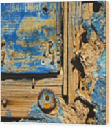 Blues Dues Wood Print