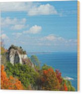 Bluffs Splendour - Scarborough Bluffs Wood Print