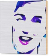 Blur Girl 13 Wood Print