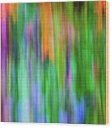Blurred #1 Wood Print