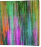 Blurred #3 Wood Print