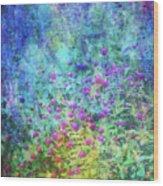 Blurred Garden 4798 Idp_2 Wood Print