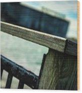 Blurred Lines Wood Print