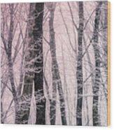 Blush Of Dawn Il Wood Print
