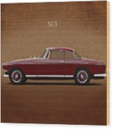 Bmw 503 Coupe 1956 Wood Print