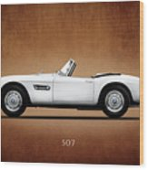 Bmw 507 1957 Wood Print