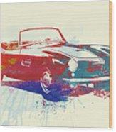 Bmw 507 Wood Print