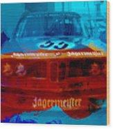 Bmw Jagermeister Wood Print