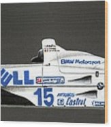Bmw Le Mans Winner 1999 Wood Print