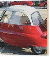 Bmw Mini-car Wood Print