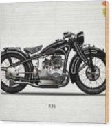 The R16 Motorcycle Wood Print
