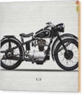 The R24 Motorcycle Wood Print
