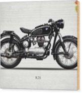 The R26 Motorcycle Wood Print
