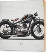 The R47 Motorcycle Wood Print