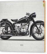 The R51 Motorcycle Wood Print