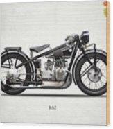 The R62 Motorcycle Wood Print