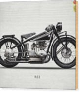 The R63 Motorcycle Wood Print