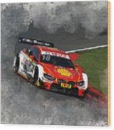 B M W Racing Wood Print