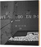 Bn 9-82 Wood Print