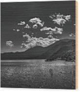 Bnw Lago De Coatepeque - El Salvador V Wood Print