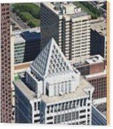 Bny Mellon Center 1735 Market Street Philadelphia Pa 19103 2998 Wood Print by Duncan Pearson