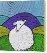 Bo Peeps Lost Sheep Wood Print