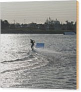 Board Jump Wood Print