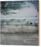Boardwalk Blues 2- Art By Linda Woods Wood Print