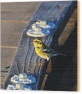 Boardwalk Inspector Wood Print