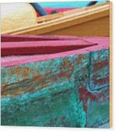 Boat 0005 Wood Print