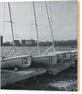Boat Club #1 Wood Print