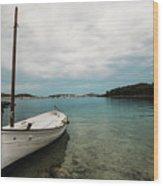 Boat Iv Wood Print