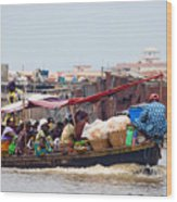Boat Taxi II Wood Print