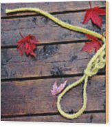 Boaters Chain Wood Print