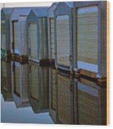 Boathouse 2 Wood Print