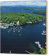 Boating Season Wood Print