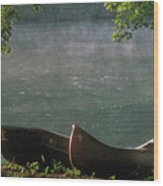 Boats - Natchez Wood Print