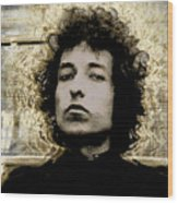 Bob Dylan 2 Wood Print