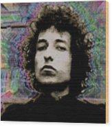 Bob Dylan 6 Wood Print